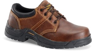 Dark Brown Carolina Steel Broad Toe ESD Oxford