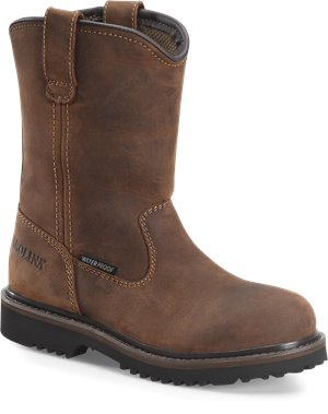 Dark Brown Carolina KIDS WATERPROOF LOGGER