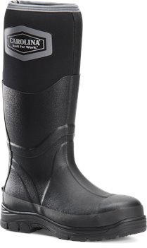 Black Carolina Mens 16 In ST Puncture Resistant Rubber Boot