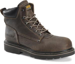 Medium Brown Carolina Mens 6 Inch Work Boot