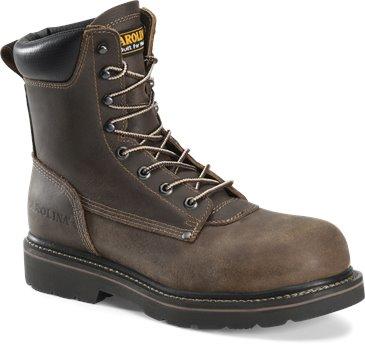 Medium Brown Carolina Mens 8 Inch Work Boot
