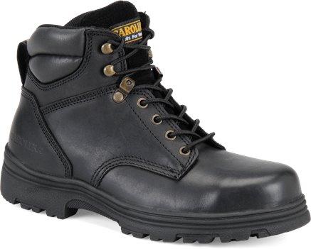 Black Carolina 6 IN Steel Toe Hiker