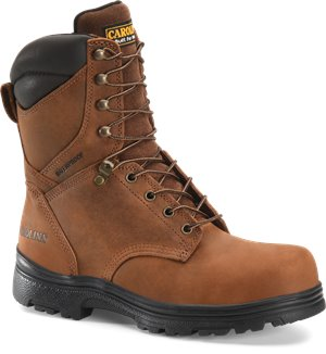 Dark Brown Carolina 8 IN Steel Toe WP Hiker