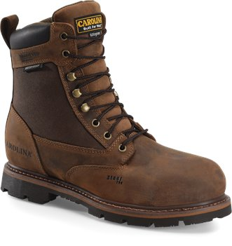Dark Brown Carolina 8 In WP Insulated Ultra Tuff