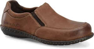 Dark Brown Carolina Aluminum Toe Opanka Slip On