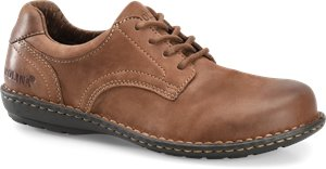 Dark Brown Carolina Womens BLVD Oxford