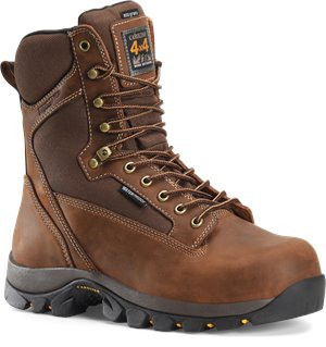 Copper Crazy Horse Carolina Mens 8 Inch WP 800G 4x4 Hiker