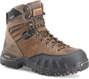 Dark Brown Carolina 7In PC2 Waterproof Composite Toe 4x4 Hiker