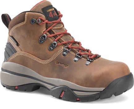 Dark Brown Carolina Mens 6in WP Carbon Comp Toe Hiker