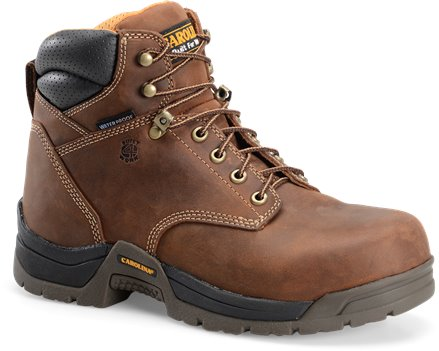 Copper Crazy Horse Carolina 6 Inch Waterproof Broad Toe