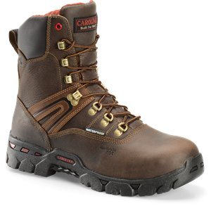 Dark Brown Carolina 8 Inch Comptoe WP Hiker