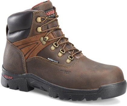Dark Brown Carolina 6 Inch Broad Comp Toe WP Hiker