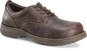 Brown Carolina Mens ESD Aluminum Toe Opanka Oxford