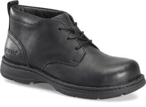 Black Carolina Mens ESD Aluminum Toe Opanka Chukka