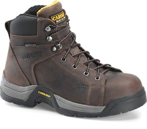 Dark Brown Carolina Veneer Hiker Composite Toe