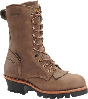 Dark Brown Carolina 10 Inch Insulated GORE-TEX ST Logger