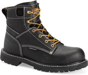 "Black Carolina 6"" Waterproof Comp Toe Boot"