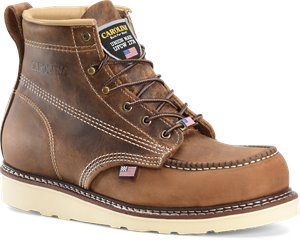 Dark Brown Carolina AMP USA STEEL TOE