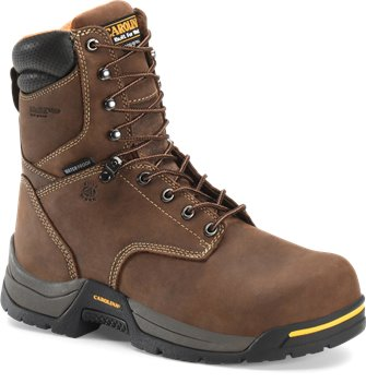 Dark Brown Carolina 8 Inch WP 600G Broad Toe