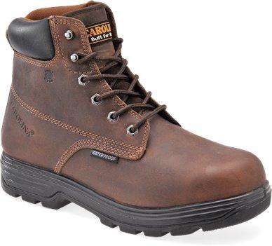 Dark Brown Carolina 6 Inch Steel Toe Core Basic