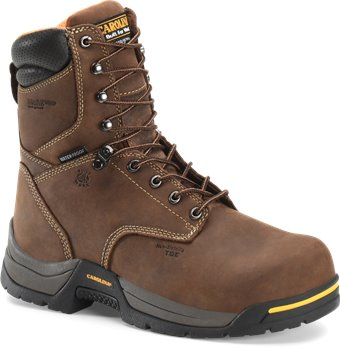 Dark Brown Carolina 8 Inch Comp Toe WP 600G