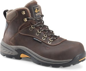 Dark Brown Carolina 5 Inch Waterproof Comp Toe Hiker
