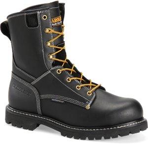 Black Carolina 8 Inch WP Composite Toe Work Boot