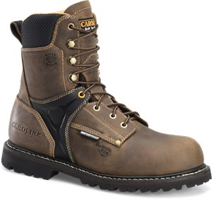 Bandit Walnut Carolina 8 Inch Comp Toe WP Work Boot