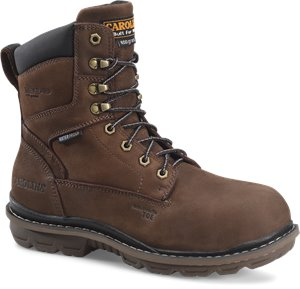 T Moro Carolina Mens 8 Inch WP 600G Comp Toe Work Boot