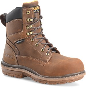 Mahogany Carolina 8 In Waterproof Comp Toe Work Boot