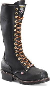 Black Oil Carolina 16 Inch EH Linesman Boot