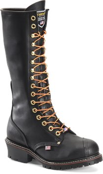 Black Carolina 16 Inch Linesman Boot