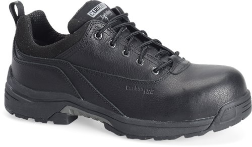 Black Carolina Lightweight CompToe Oxford