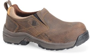 Brown Carolina Lightweight ESD Comp Toe Slip On