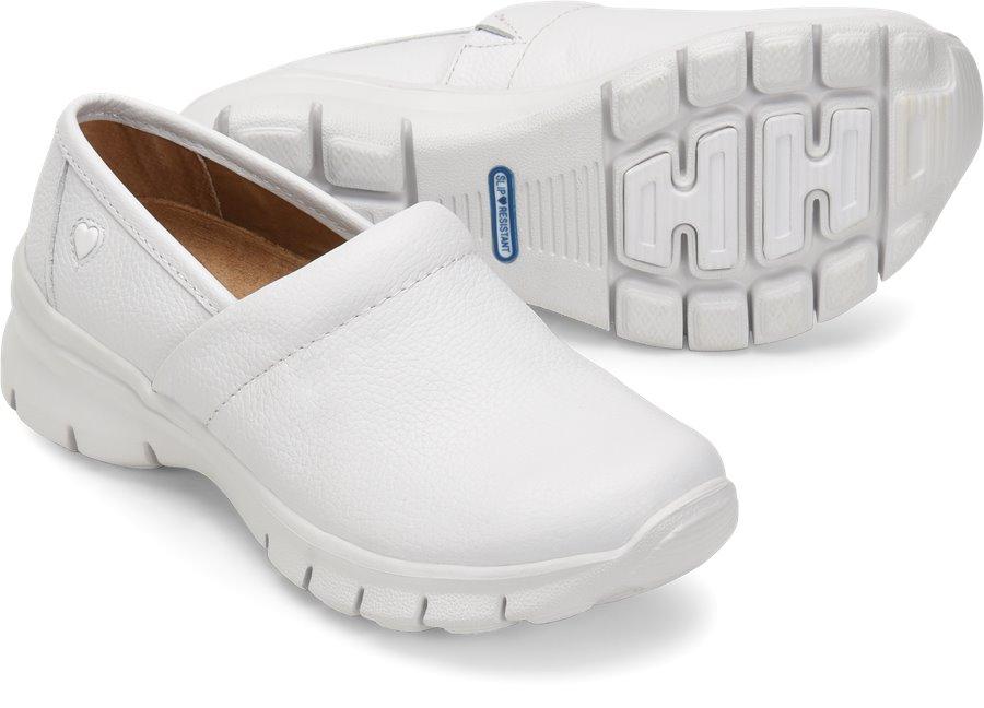 Nurses Style White Shoes