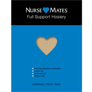 Nearly Nude Nurse Mates Full Support Hosiery