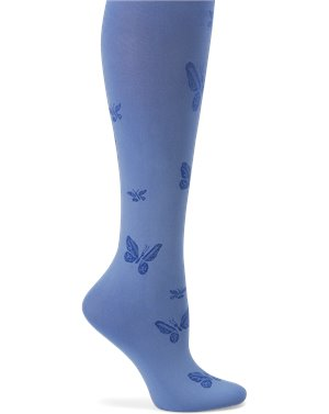 Ceil Butterfly Nurse Mates Compression Trouser Socks