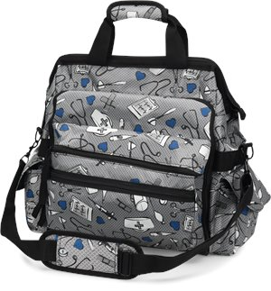 Medical Pattern Nurse Mates Ultimate Nursing Bag