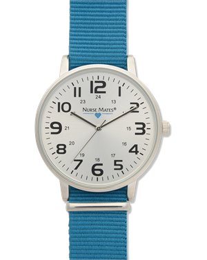 Turquoise Nurse Mates Nylon Sport Watch