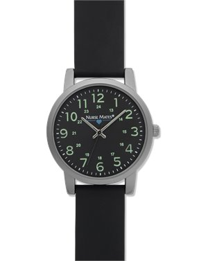 Black Nurse Mates Luminous Watch