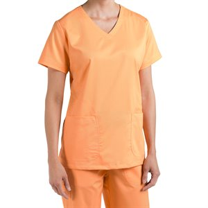 Orange Sunset Nurse Mates Maci Top