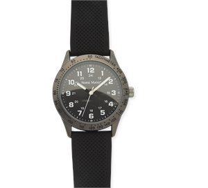 Black Nurse Mates Unisex Tach Watch