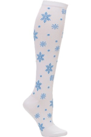 Cystal Snowflakes Nurse Mates Compression Socks