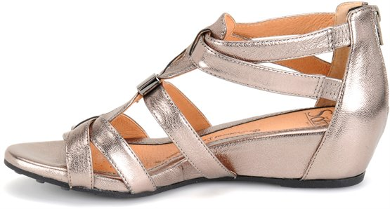 448ae0d626c Sofft Bernia in Anthracite - Sofft Womens Sandals on Shoeline.com