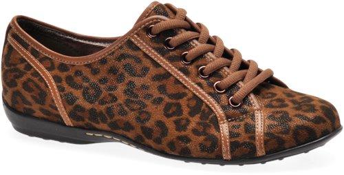 Dark Brown Leopard Sofft Portland