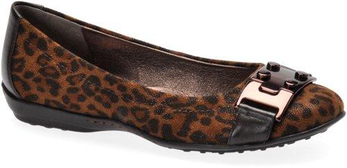 Dark Brown Leopard Sofft Palina
