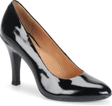Black Patent Sofft Moselle