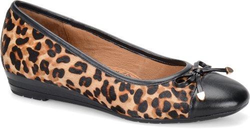 Natural Leopard Hair Black Sofft Selima