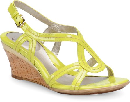 Mellow Yellow Patent Sofft Paharita