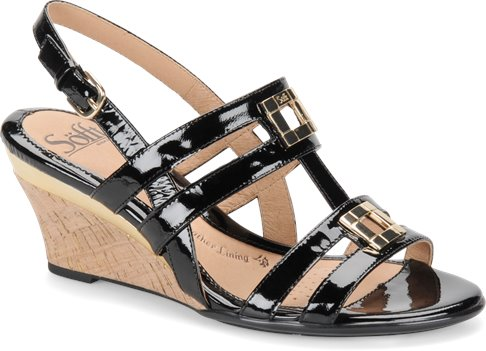 Black Patent Sofft Petra